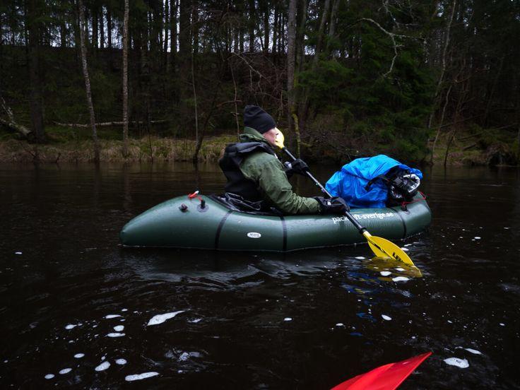 Järleån  paddling och övernattning