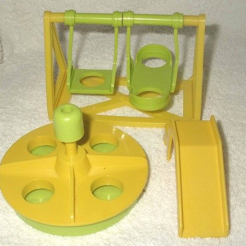 fisher price... Kids these days have no idea what this is for, lol... LOVED the little people play sets...