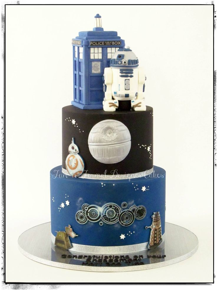 star wars wedding cake 1000 images about wars trek cakes on 7677