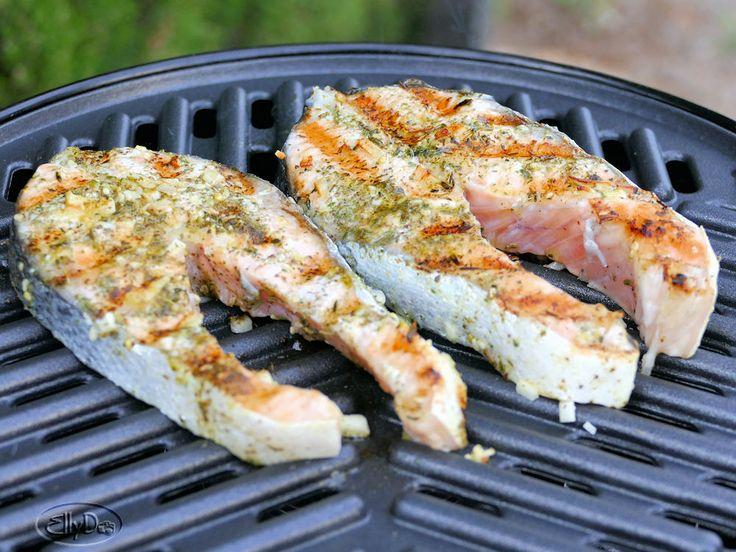 zalmmoot van de grilplaat / Lekker koken op de camping   Zoutarm-maar-wel-lekker.jouwweb.nl