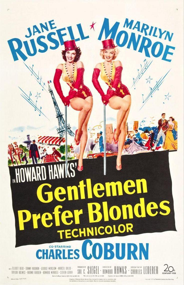 Los caballeros las prefieren rubias (1953) - FilmAffinity