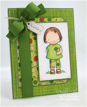 Copic card by Debbie Olsen
