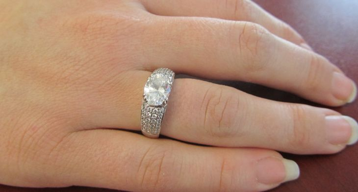 Newest Diamond Engagement Ring Design Ideas 9 in 2019 ...
