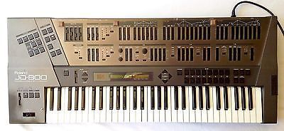 Roland JD 800 Programmable Synthesizer With Strings Ensemble Sound Library 04