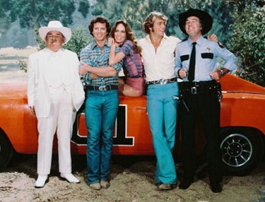 The Dukes of Hazzard was a TV series from 1979 to 1985. It was inspired by the 1975 film Moonrunners and had identical or similar character names and concepts. The Duke Family - cousins Bo (John Schneider) and Luke (Tom Wopat), assisted by their cousin Daisy ( Catherine Bach) and their uncle, Jesse (Denver Pyle) - fight the system and root out the corrupt practices of Hazzard County Commissioner Boss Hogg (Sorrell Booke) and his bumbling brother-in-law-Sheriff Rosco P. Coltrane (James Best).: Dukes Of Hazard, Remember, 80S, Hazzard, Childhood Memories, Dukes Boys, Bo Dukes, Daisies Dukes, Friday Night