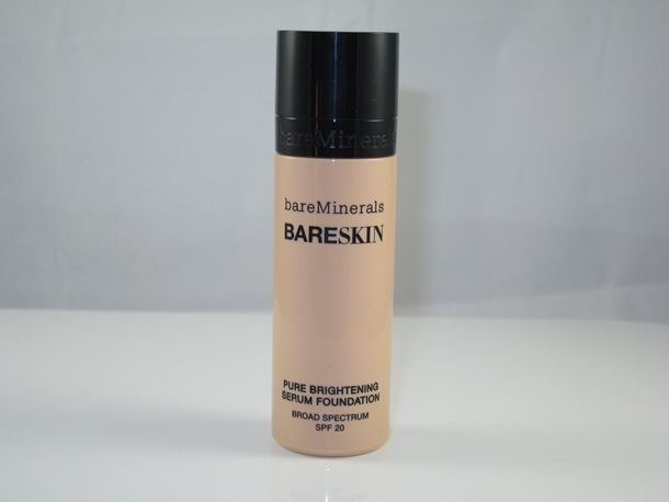 Bare Minerals Bare Skin Serum Foundation Review and Swatches