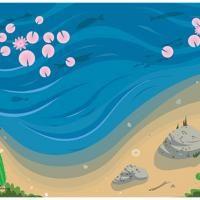 Beach Background Paper