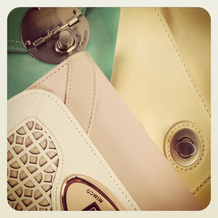 A Mimco pastel palette to brighten your day...