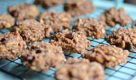 Galletas de avena: Galletas de avena sin harina