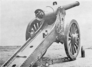 Le Creusot Long Tom.  In 1897 the Transvaal purchased four of these massive, 155 mm howitzers from the French firm Schneider et Cie.  They outranged all British artillery at the start of the Second Boer War.  One was employed at the Siege of Kimberley as a response to the deployment of the one-off Long Cecil, which it outranged by almost 1000 yards.  All four were destroyed during the war as ammunition supplies were exhausted, although reproductions remain on display in South Africa.