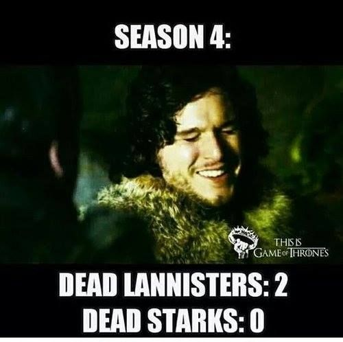 Not a bad season for Starks