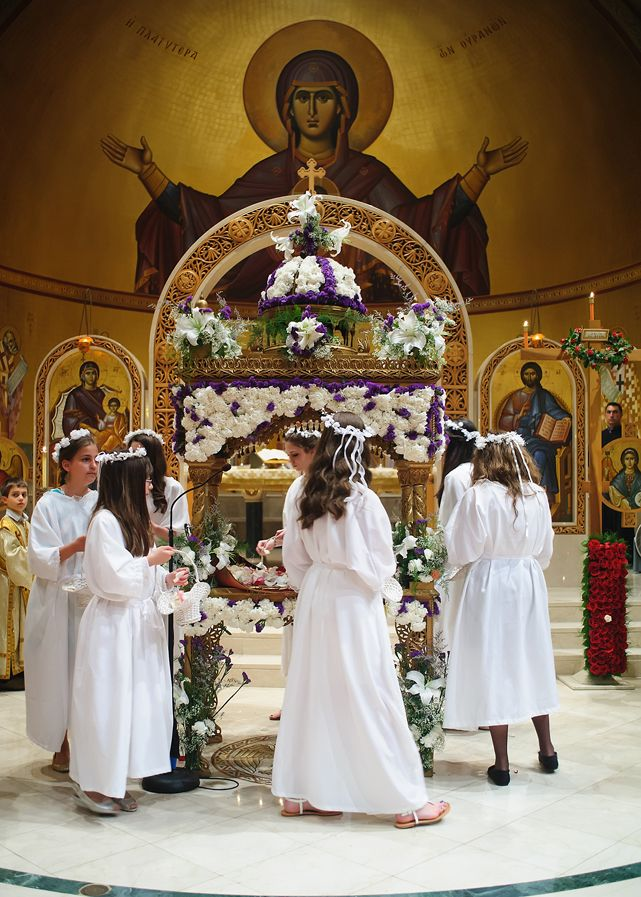 Great Lent, Holy Week, and Pascha | Holy Week and Pascha in Pictures | Featured Parish: Saint Barbara Greek Orthodox Church, Orange, CT