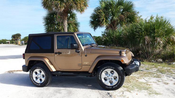Copper Brown Jeep Wrangler Sahara