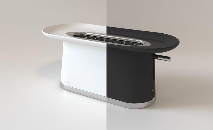 Fedora - toaster on Behance