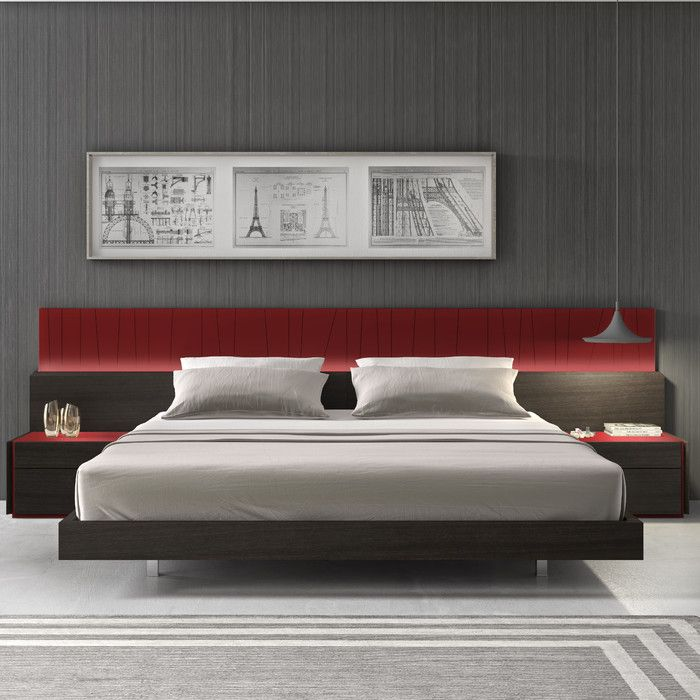 Lagos Platform Customizable Bedroom Set U0026 Reviews | AllModern