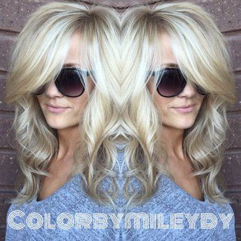 Blondes what can I say. Love Them, comes easy to me !! She has a balayage / plus babylights . | Yelp