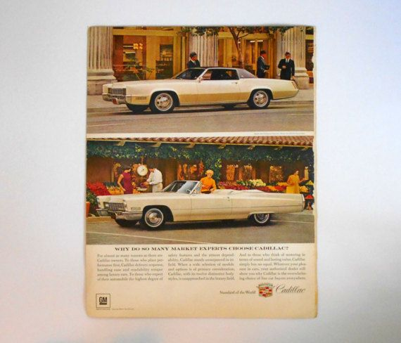 Fortune Magazine Cover May 1967 GM Cadillac by MargsMostlyVintage