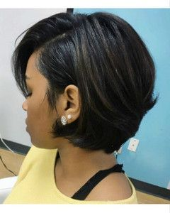 10″ Cute Bob Wigs For African American Women The S…