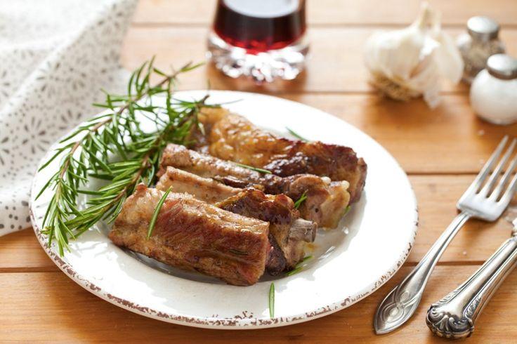 Costine di maiale alla griglia ricetta