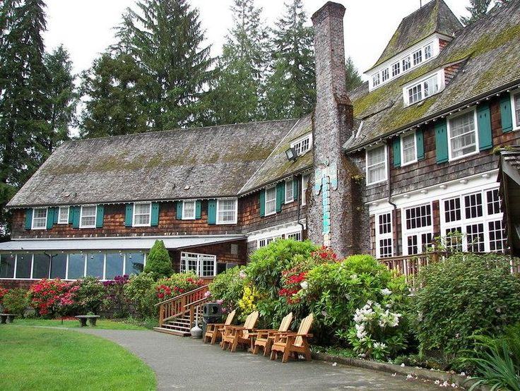 Lake Quinault Lodge, Olympic National Park, WA - we are staying here for one night!