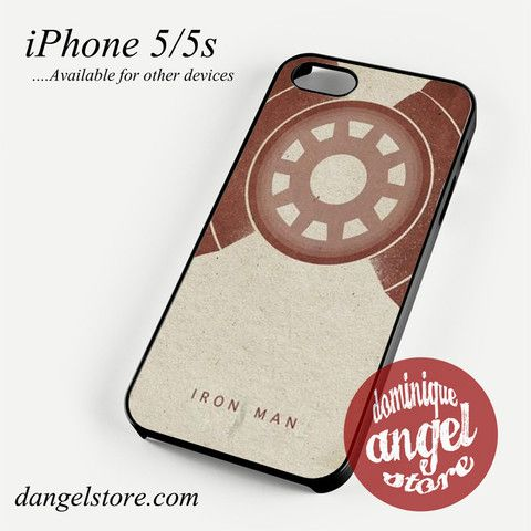 Iron Man in Paper Phone Case for iPhone 4/4s/5/5c/5s/6/6s/6 Plus