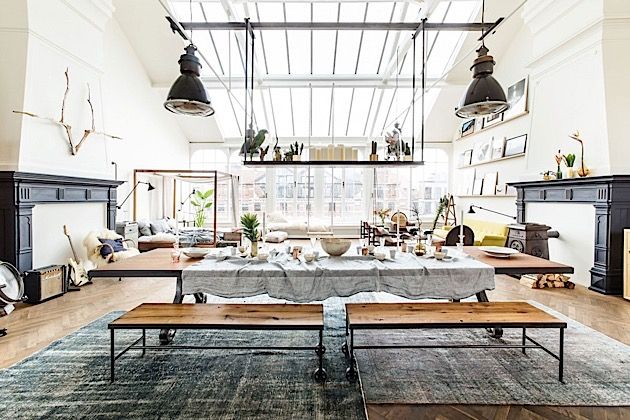 Emejing Eklektische Wohnung Loft Charakter Gallery - House Design