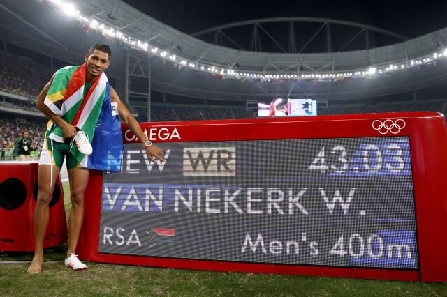 Wayde Van Niekerk breaks world record in 400m  South Africa'sWayde Van Niekerkis the new wor...
