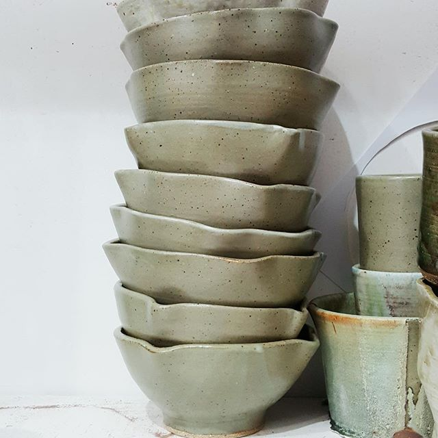 Ceramics stacked just right. Thanks @zopinnell for sharing this great shot!