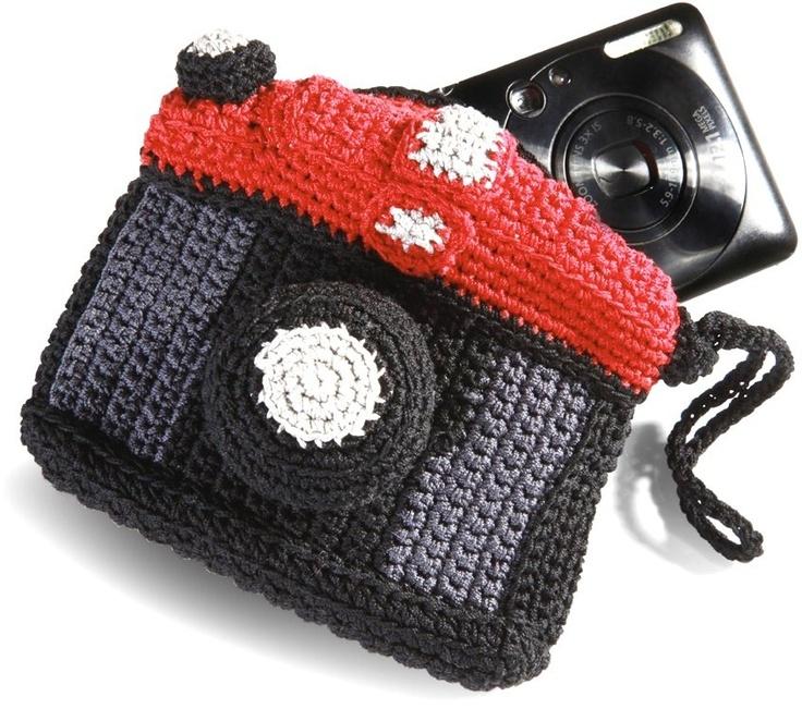 Étui appareil photo en crochet en solde sur L'AvantGardiste.com