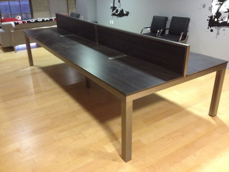 Culver City Ca Workstation With Privacy Panel Divider Gb Modern Desks And Workstations