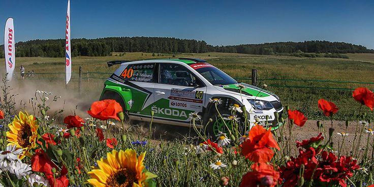 Skoda rally de Polonia Carros Ok2 Camion monstruo