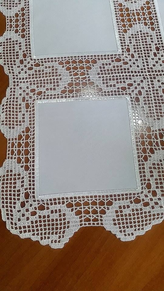 Elegant Filet Crochet Tablecloth For Modern Table Decor – Page 4 – Crochet Filet