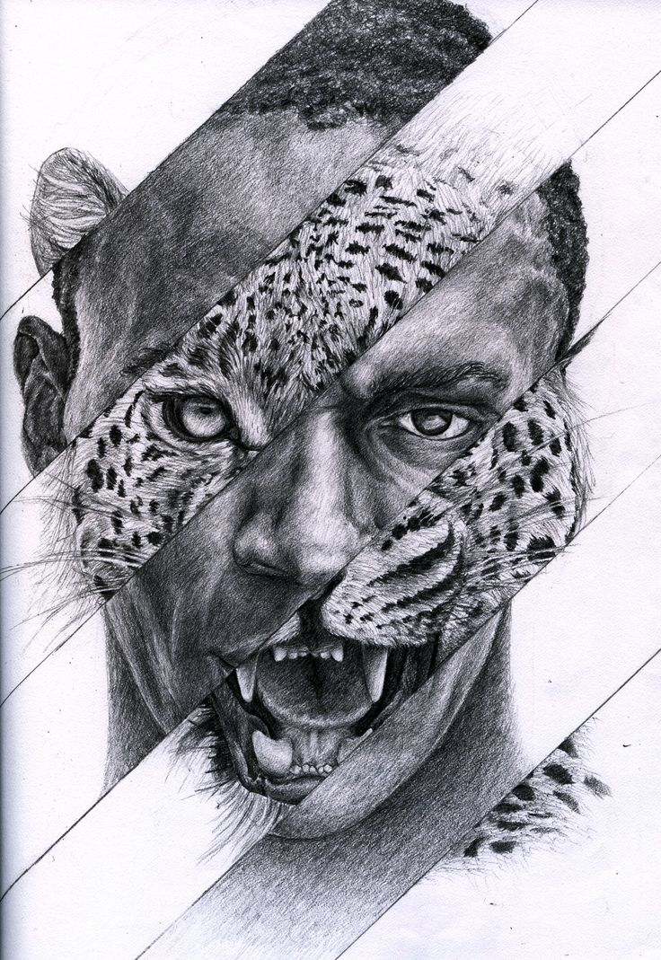 I found this collage piece of Usain Bolt and thought it was an interesting portrayal of the human cheetah