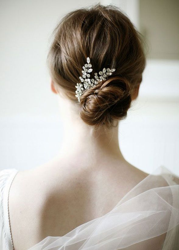 501 best Wedding Hairstyles images on Pinterest | Bridal ...