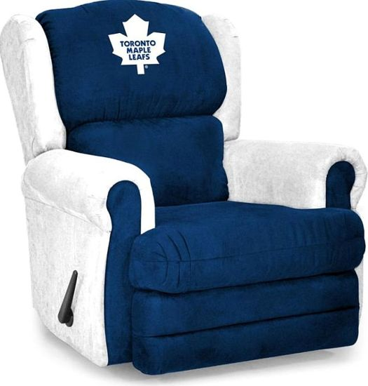 Toronto Maple Leafs Armchair Coach Recliner #furniture # ...