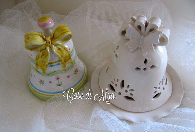 Cose di Mya: Pasqua...di ceramica