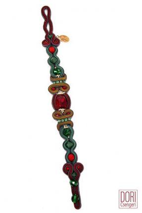Temptation festive thin bracelet.  #DoriCsengeri #festive #thin #delicate #bracelet