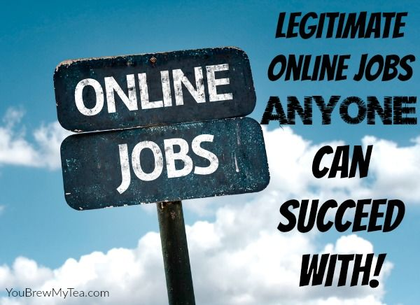 Check out these 7 Legitimate Online Jobs ANYONE Can Succeed With!  We give you the tols to create a wonderful work at home business you will love!