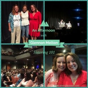 25 Things from Glennon Melton's Talk at Charleston Music Hall (Part 1) | Sherry Boswell