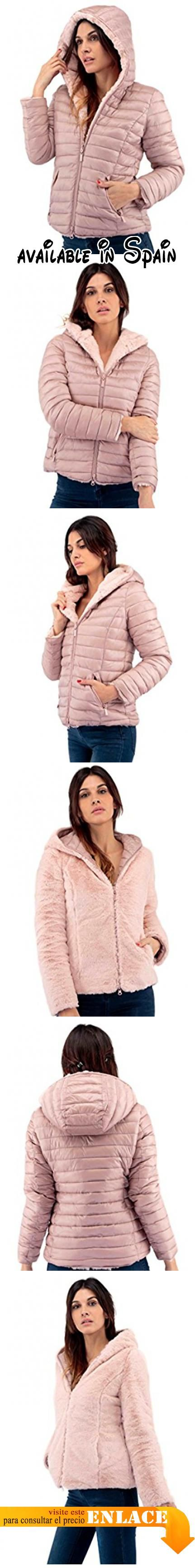 B078BN9P42 : Plumas reversible para mujer color malba (XL). reversible