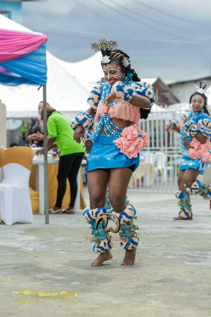 Nigerian Wedding Presents Akan & MaryAnn Efik-Calabar Traditional Wedding | George Okoro Weddings