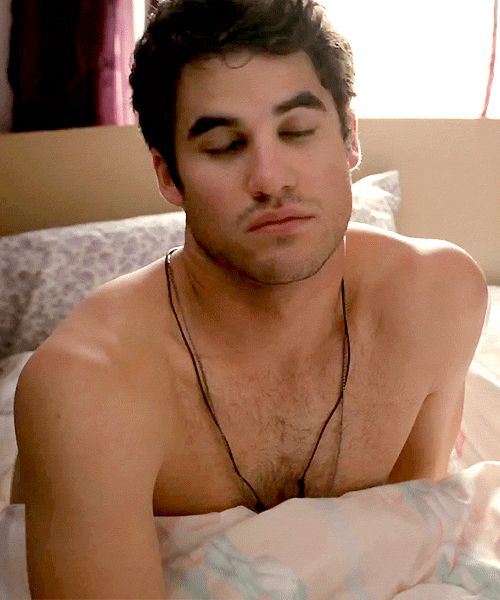 And Darren Criss just chilling in bed like...