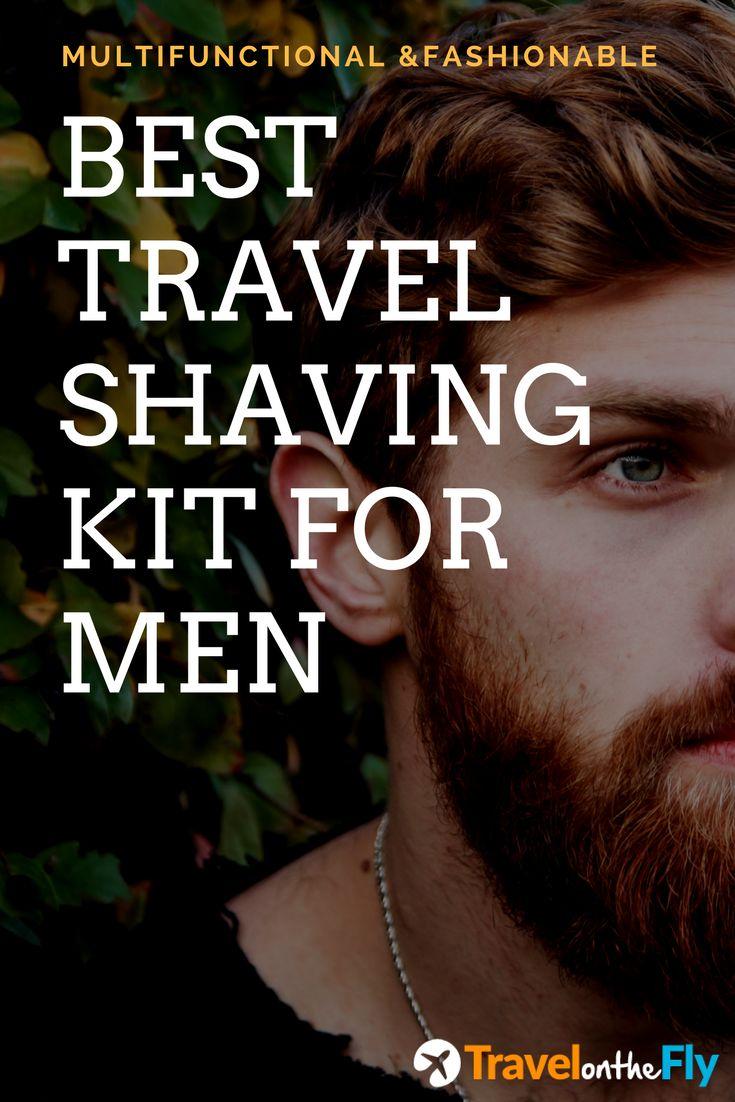 Best travel shaving kit for men. Great shaving kit for packaging and carry on luggage. Fashionable and multifunctional travel shaving kit. Must have for all men travellers.