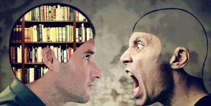 l'intelligenza tace.. l'ignoranza urla