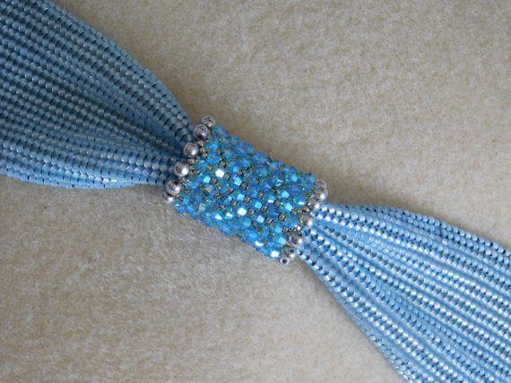 Beaded Bracelet Tutorial Bead Pattern Instructions Jewelry