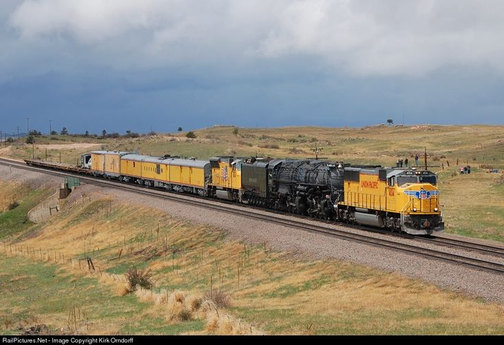 RailPictures.Net Photo: UP 4014 Union Pacific EMD SD70M at Unknown, Wyoming by Kirk Orndorff