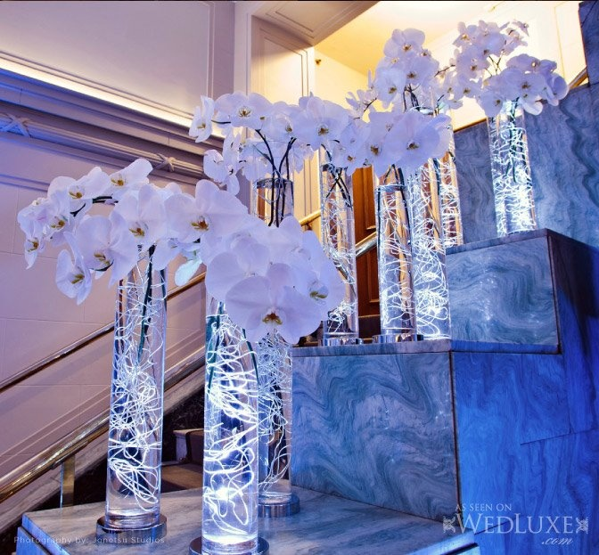 White Orchids | WEDDING DECORATIONS | Pinterest