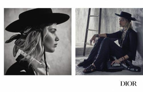 ディオール 2018のクルーズ コレクションのキャンペーンにジェニファー・ローレンスが登場