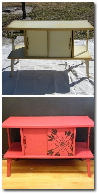 Refinishing And Painting Furniture Found At Garage Sales For The Home Pinterest Paint