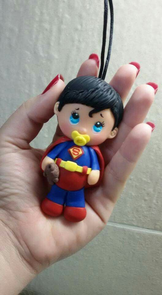 Baby super man biscuit